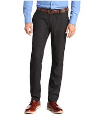 BOSS Orange Blue 'sairy-w' | Slim Fit, Stretch Viscose Textured Chinos for men