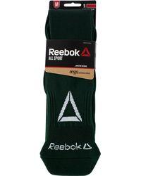 Reebok - Green All Sport Athletic Knee High Socks for Men - Lyst
