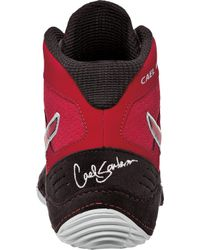 Asics - Red Cael V6.0 Wrestling Shoe for Men - Lyst