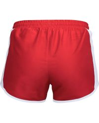 Under Armour - Red Fly-by Running Shorts - Lyst