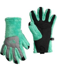 The North Face - Green Girls' Denali Thermal Etip Gloves - Lyst
