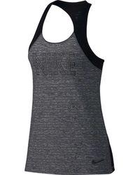 Nike - Black Pro Tank Top - Lyst