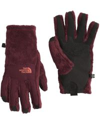 The North Face | Red Denali Thermal Etip Gloves - Past Season | Lyst