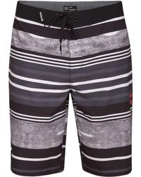 bf8edd9d2a Lyst - Hurley Off The Line Board Shorts in Black for Men