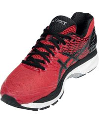 Asics - Red Gel-nimbus 18 Running Shoes for Men - Lyst