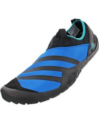 Adidas Blue Outdoor Climacool Jawpaw Slip-on Water Shoes for men