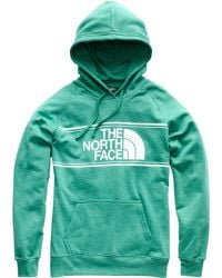 The North Face Green Edge To Edge Pullover Hoodie