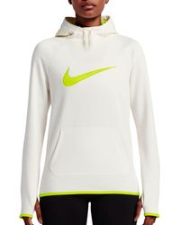 Nike - White Therma All Time Graphic Hoodie - Lyst