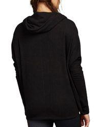 Zobha - Black Harrison Cozy Dolman Long Sleeve Shirt - Lyst