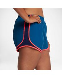 Nike - Blue 3'' Plus Size Dry Tempo Running Shorts - Lyst