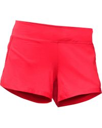 The North Face - Red Kick Up Dust Shorts - Lyst