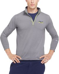 Polo Ralph Lauren - Gray Stretch Jersey Pullover for Men - Lyst