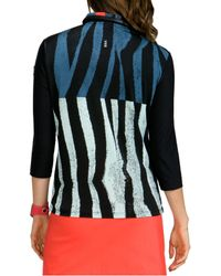 Jamie Sadock - Multicolor Shimauma Print 1⁄4 Zip Golf Top - Lyst