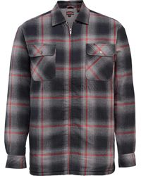Wolverine - Gray Marshall Shirt Jacket for Men - Lyst