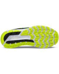 Saucony Black Hurricane Iso 3 Running Shoes for men