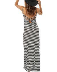 O'neill Sportswear - Black Cedar Maxi Dress - Lyst
