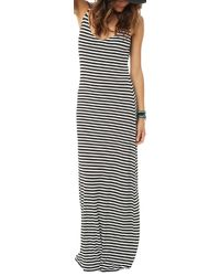O'neill Sportswear - Black Cedar Maxi Dress - Lyst