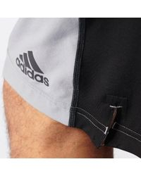 Adidas Originals - Gray Team Issue Woven 10'' Shorts for Men - Lyst