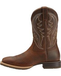 297787a181f Men's Brown Hybrid Rancher Work Boots