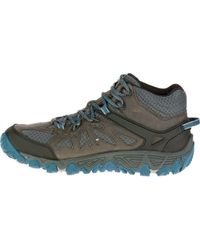 Lyst Merrell All Out Blaze Vent Mid Waterproof Hiking