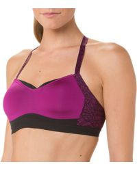 Moving Comfort - Purple Fineform A/b Cup Sports Bra - Lyst