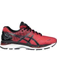 Asics - Red Gel-nimbus 18 Running Shoes for Men - Lyst