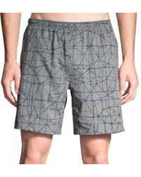 Brooks - Gray Sherpa 7'' Running Shorts for Men - Lyst