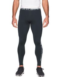 696a922f73 Lyst - Under Armour Heatgear Armour Graphic Compression Leggings in ...