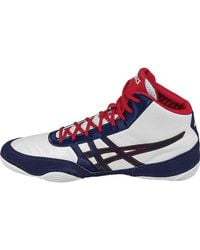 Asics - Blue Jb Elite V2.0 Wrestling Shoes for Men - Lyst