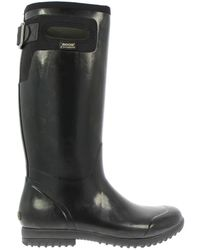 "Bogs Black Tacoma Tall 13"" Insulated Waterproof Rain Boots"