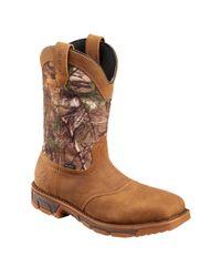 Irish Setter - Brown Marshall 11'' Camo Waterproof Steel Toe Work Boots - Lyst