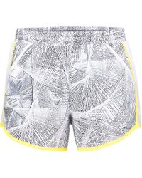 Under Armour - White Fly By Printed Shorts - Lyst