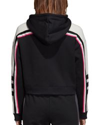Adidas - Black Originals Aa-43 Cropped Hoodie - Lyst