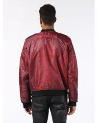 DIESEL - Blue Werocks Jacket for Men - Lyst