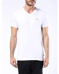 DIESEL - White Umtee-michael3pack for Men - Lyst