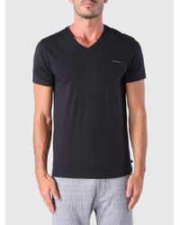 DIESEL - Black Umtee-michael for Men - Lyst