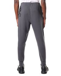 Y-3 - Gray Men's Logo Cuff Pants Solid Grey for Men - Lyst
