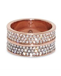 Vince Camuto - Metallic Cigar Band Ring - Lyst