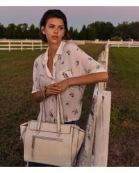 Vince Camuto - Natural Aylif Tote - Lyst