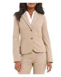 CALVIN KLEIN 205W39NYC - Natural Two-button Suit Jacket - Lyst