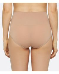 Yummie By Heather Thomson - Natural Ultralight Seamless Thong - Lyst