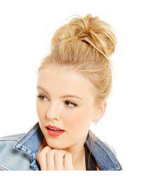 Jessica Simpson - Metallic Crystal Stud Earrings - Lyst