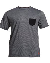 North 56'4 - Gray North 56 4 Big & Tall Solid Contrast Pocket Short-sleeve Tee for Men - Lyst