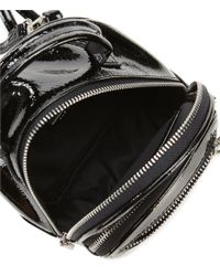 ALDO - Black Hiawatha Patent Mini Backpack - Lyst