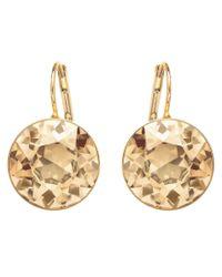 Swarovski | Metallic Bella Earrings | Lyst