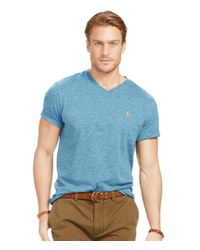 Polo Ralph Lauren | Blue Classic-fit Cotton Mesh Polo Shirt for Men | Lyst