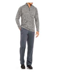 Under Armour - Gray Tech 1/4 Zip Pullover for Men - Lyst