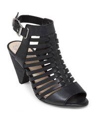 Vince Camuto | Black Elrita Huarache Sandals | Lyst