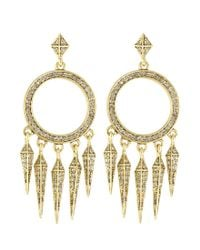 House of Harlow 1960 | Metallic Vibrations Chandelier Earrings | Lyst
