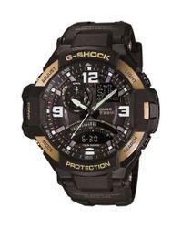 G-Shock | Black Gravity Master Ana-digi Watch for Men | Lyst